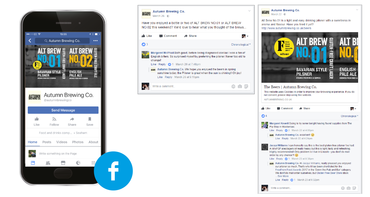 B2C PR Launch and Social Media Activity