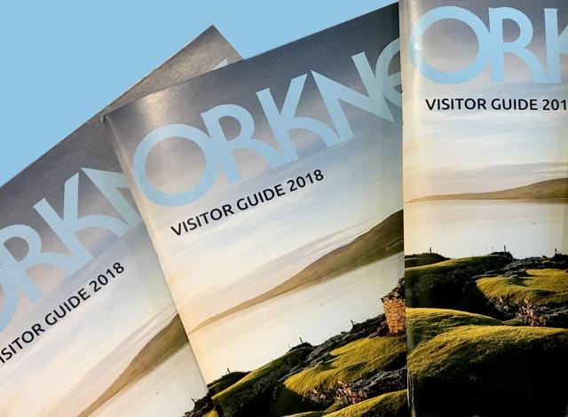 Visit Orkney Visitor Guide Brochure Design