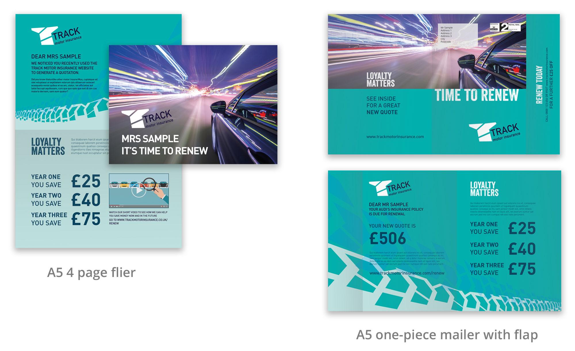 motor insurance branding