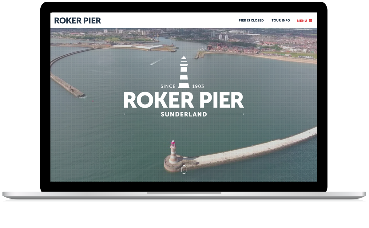 Roker Pier Sunderland Responsive Website Design and Development