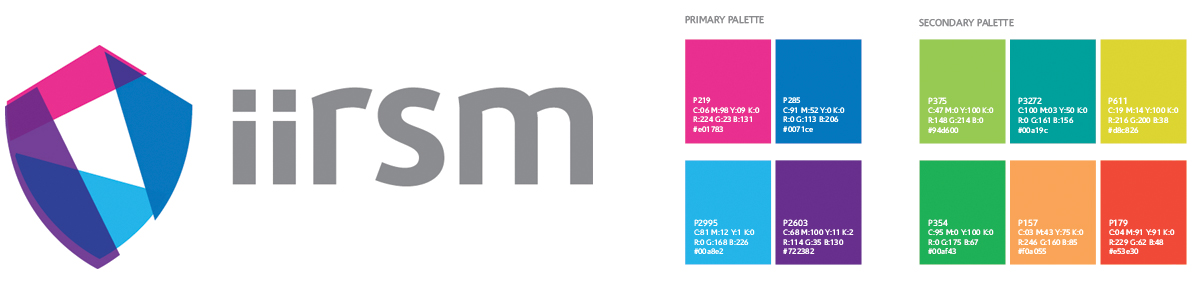 Logo Design & Development - IIRSM - Creative Design Newcastle