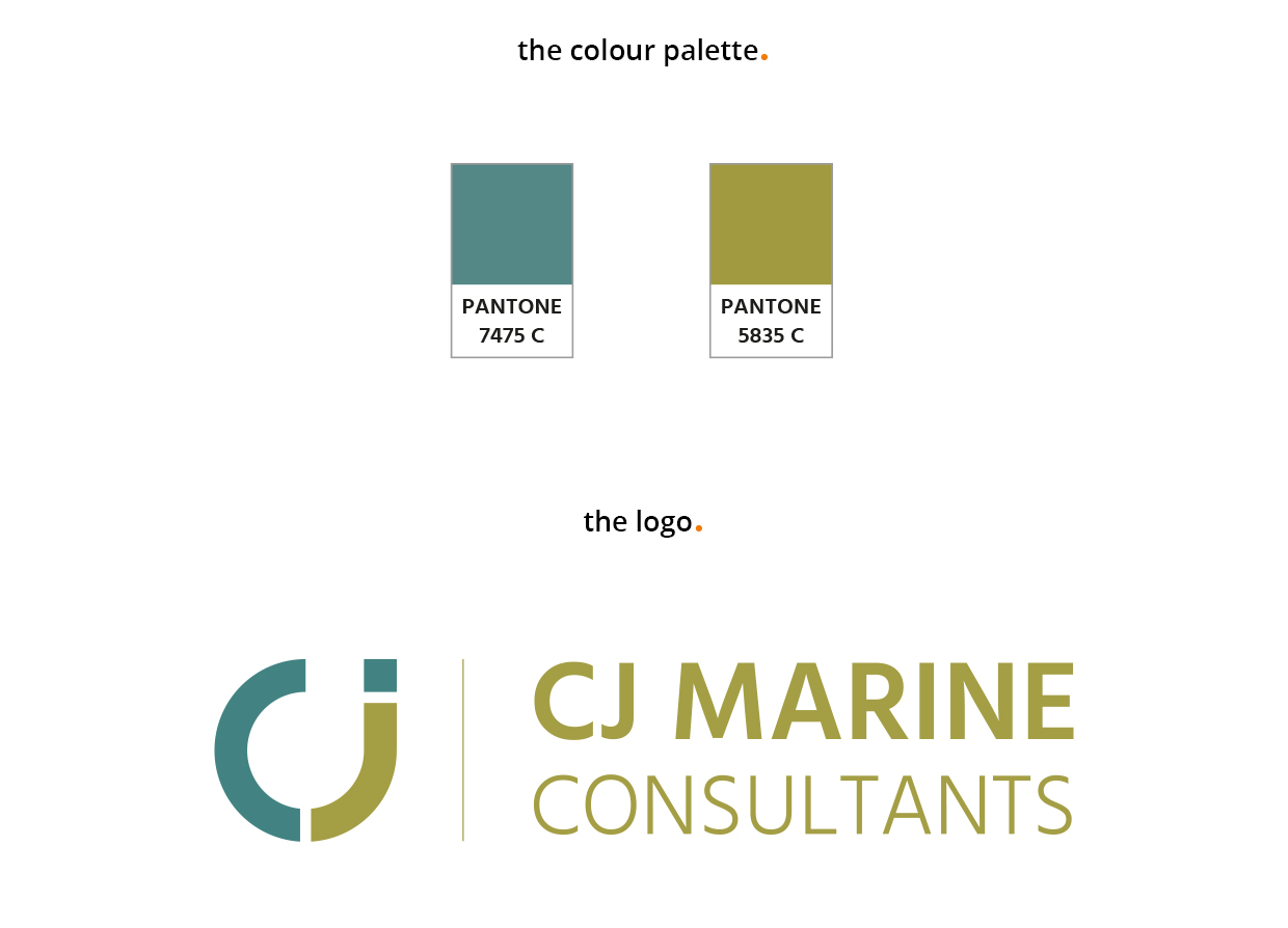 Branding & Colour Palette North East - creative marketing in Newcastle