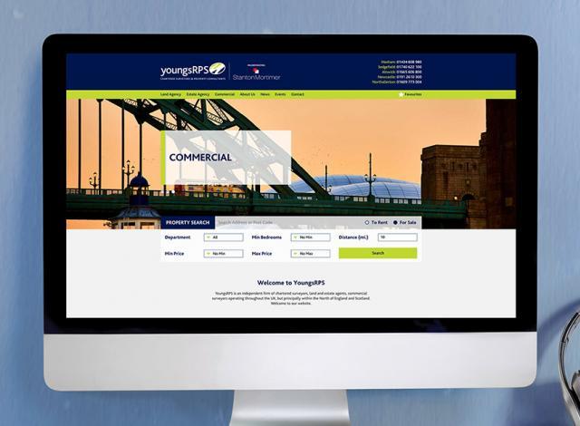 Estate Agency Website & Bespoke Jupix Integration